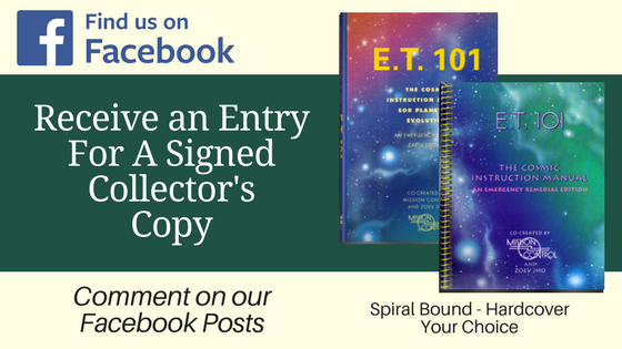 Chance to Win a Signed Collector's Edition of ET 101