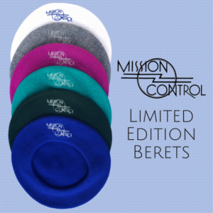 Mission Control Wool Beret Limited Edition